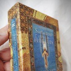 Barajas de cartas: CARTAS ORÁCULO SANANDO CON LOS ÁNGELES - DRA. DOREEN VIRTUE - ARKANO BOOKS. Lote 179172875