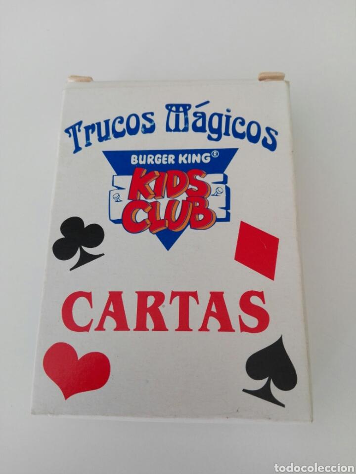 BARAJA DE CARTAS TRUCOS MAGICOS.KIDS CLUB.BURGER KING (Juguetes y Juegos - Cartas y Naipes - Barajas Infantiles)