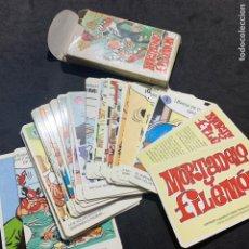 Barajas de cartas: BARAJA DE CARTAS DE MORTADELO Y FILEMÓN DE 1994. Lote 179198101