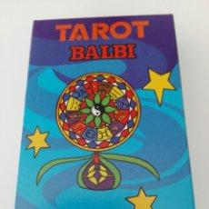 Barajas de cartas: TAROT BALBI HERACLIO FOURNIER. Lote 179198798