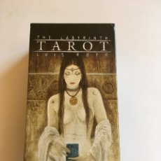 Barajas de cartas: TAROT THE LABYRINTH LUIS ROYO. Lote 179216731