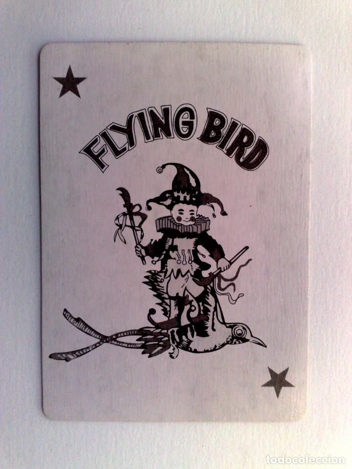 JOKER-COMODIN FLYING BIRD DE BARAJA DE CARTAS. (Juguetes y Juegos - Cartas y Naipes - Otras Barajas)