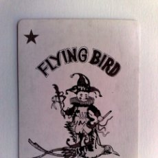 Barajas de cartas: JOKER-COMODIN FLYING BIRD DE BARAJA DE CARTAS.. Lote 179375091