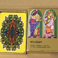 Jeux de cartes: BARAJA BRIDGE - RUMMY - CANASTA. Nº 2436. DISEÑO DE BJORN WIINBLAD.. Lote 179514585
