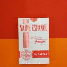 Barajas de cartas: NAIPE ESPAÑOL BARAJA 50 CARTAS NUEVA CON PRECINTO FOURTNIER. Lote 179519626