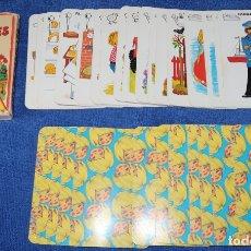 Barajas de cartas: JEUX DE FAMILLES - FRAND FORMAT - METIERS - PIATNIK. Lote 179558455