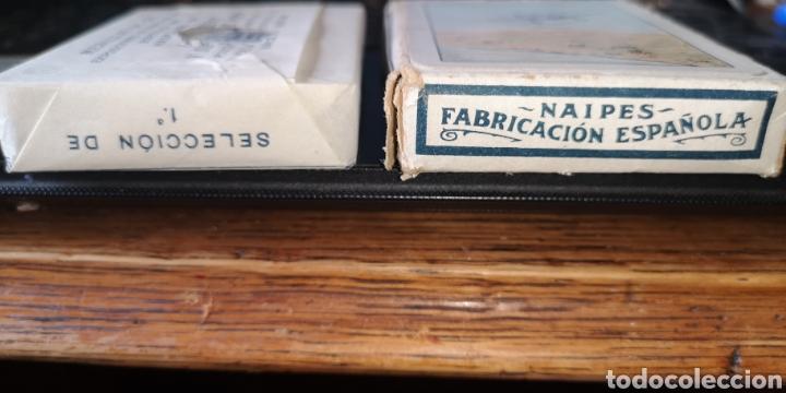 Barajas de cartas: Baraja de cartas sin estrenar de Heraclio Fournier, creo que es de los años 30 - Foto 3 - 179957682