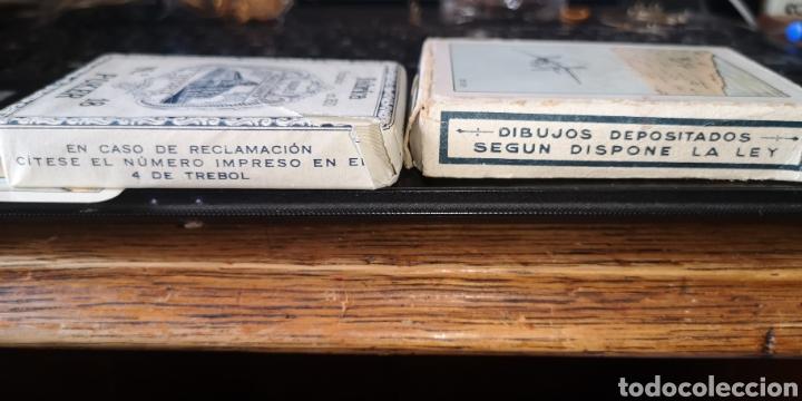 Barajas de cartas: Baraja de cartas sin estrenar de Heraclio Fournier, creo que es de los años 30 - Foto 4 - 179957682