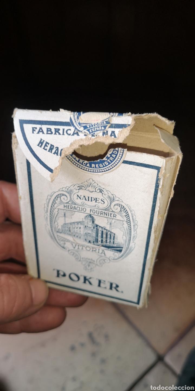 Barajas de cartas: Baraja de cartas sin estrenar de Heraclio Fournier, creo que es de los años 30 - Foto 6 - 179957682