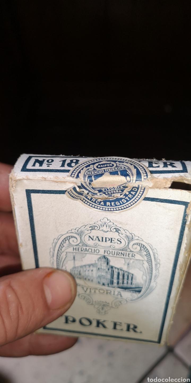 Barajas de cartas: Baraja de cartas sin estrenar de Heraclio Fournier, creo que es de los años 30 - Foto 7 - 179957682
