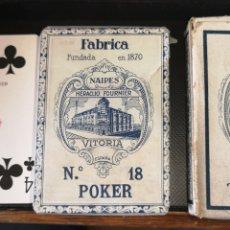 Barajas de cartas: BARAJA DE CARTAS SIN ESTRENAR DE HERACLIO FOURNIER, CREO QUE ES DE LOS AÑOS 30. Lote 179957682