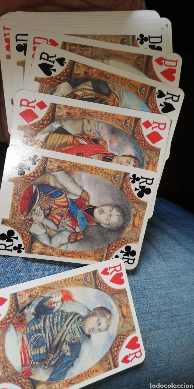 Barajas de cartas: Baraja de cartas de póker francesas napoleónicas, la Grande Armee - Foto 4 - 179958028