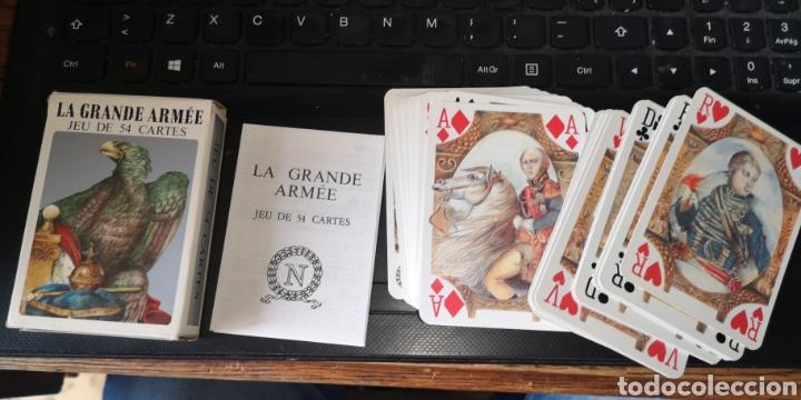 BARAJA DE CARTAS DE PÓKER FRANCESAS NAPOLEÓNICAS, LA GRANDE ARMEE (Juguetes y Juegos - Cartas y Naipes - Barajas de Póker)
