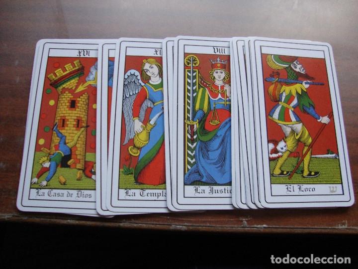 RAROS ARCANOS MAYORES COMPLETOS PERFECTO ESTADO (Juguetes y Juegos - Cartas y Naipes - Barajas Tarot)