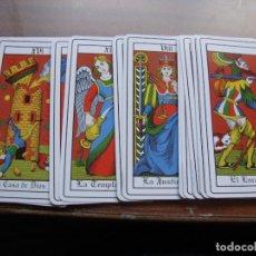 Barajas de cartas: RAROS ARCANOS MAYORES COMPLETOS PERFECTO ESTADO. Lote 180018177