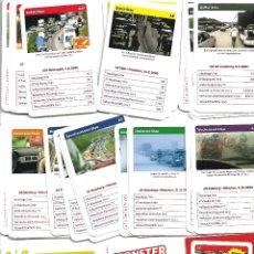 Barajas de cartas: BARAJA ALEMANA DE AUTOMOVILES Y CIRCULACION NUEVA PERFECTA EN SU CAJA. Lote 180021248