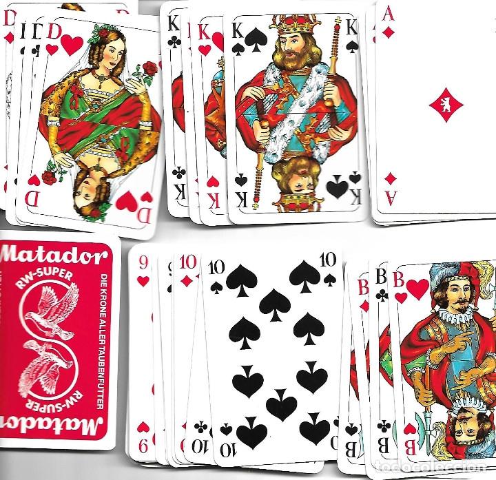 BONITA BARAJA ALEMANA PERFECTO ESTADO (Juguetes y Juegos - Cartas y Naipes - Barajas de Póker)