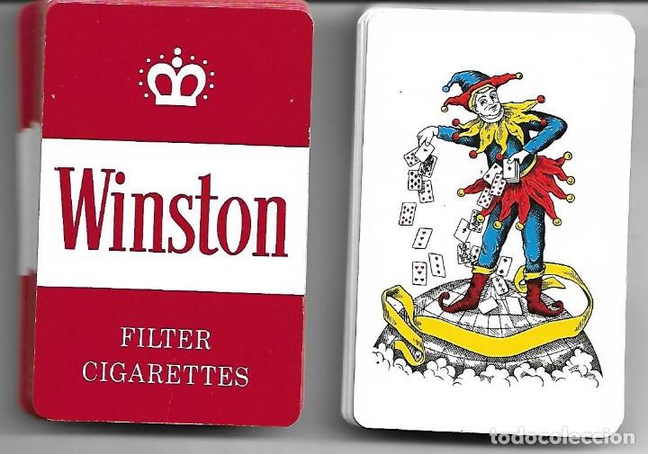 BONITA BARAJA WINSTON PERFECTO ESTADO (Juguetes y Juegos - Cartas y Naipes - Barajas de Póker)