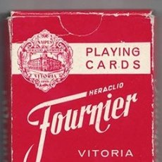 Barajas de cartas: PLAYING CARDS FOURNIER 54 CARTAS. ROMATE CARDENAL MENDOZA. BARAJACARTAS-229. Lote 180098202