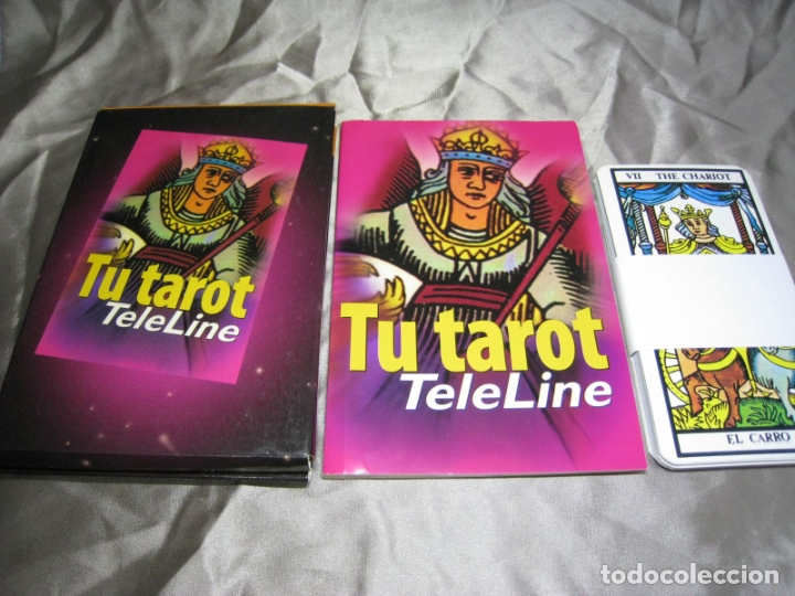 TU TAROT. TELELINE. 22 CARTAS + LIBRO GUIA (Juguetes y Juegos - Cartas y Naipes - Barajas Tarot)