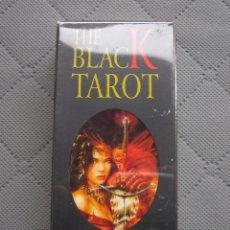 Barajas de cartas: HERACLIO FOURNIER THE BLACK TAROT. Lote 180114283