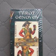 Barajas de cartas: HERACLIO FOURNIER TAROT GENOVES. Lote 180114611