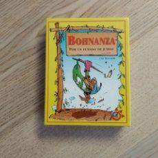 Barajas de cartas: JUEGO DE CARTAS BOHNANZA. POR UN PUÑADO DE JUDÍAS. Lote 180118471
