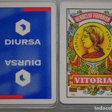 Barajas de cartas: BARAJA ESPAÑOLA. FOURNIER. DIURSA. GRUPO INMOBILIARIO. 120 GR. Lote 180129076