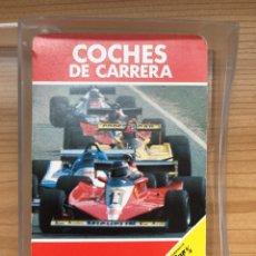Barajas de cartas: BARAJA DE CARTAS - COCHES DE CARRERA - FOURNIER 1980 (COMPLETA). Lote 180176535