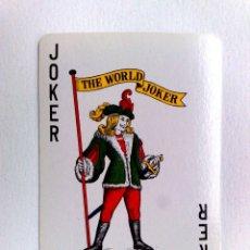 Barajas de cartas: JOKER-COMODIN DE BARAJA DE CARTAS. Lote 180227112