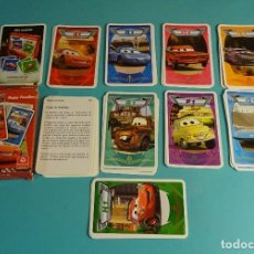 Barajas de cartas: BARAJA THE WORLD OF CARS. HAPPY FAMILIES. 8 FAMILIAS. Lote 180230790