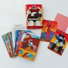 Barajas de cartas: BARAJA CARTAS - NAIPES MAZINGER Z DE HERACLIO FOURNIER AÑOS 70 - COMPLETA. Lote 180232307