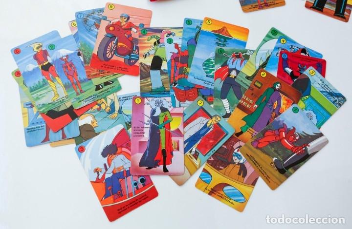 Barajas de cartas: Baraja cartas - naipes MAZINGER Z de HERACLIO FOURNIER AÑOS 70 - Completa - Foto 2 - 180232307