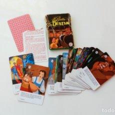Barajas de cartas: BARAJA CARTAS LA BELLA Y LA BESTIA - HERACLIO FOURNIER AÑO 1992 - COMPLETA. Lote 180234761