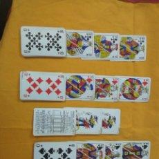 Barajas de cartas: ANTIGUA BARAJA DE POKER COMPLETA . Lote 180241326