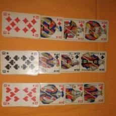 Barajas de cartas: ANTIGUA BARAJA DE POKER COMPLETA . Lote 180242132