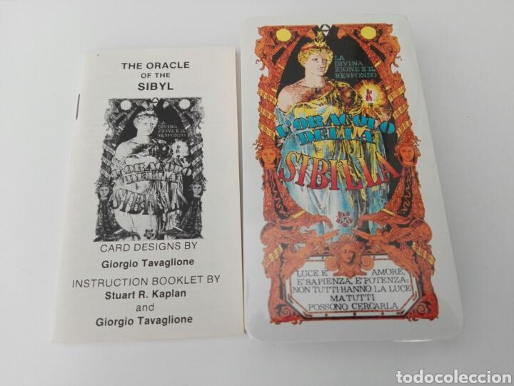 Barajas de cartas: Baraja Tarot L'Oracolo della Sibilla - Foto 3 - 180248130