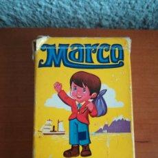 Barajas de cartas: BARAJA MARCO DE LOS APENINOS A LOS ANDES - AÑO 1976 - EDICIONES A. SALDAÑA ORTEGA. Lote 180275770