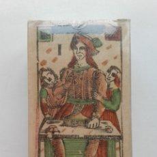 Barajas de cartas: TAROT FLORENTINO MINCHIATE AL LEONE. ITALIA SIGLO XVIII, 1790 FASCIMIL - BARAJA NUEVA Y PRECINTADA. Lote 180281205