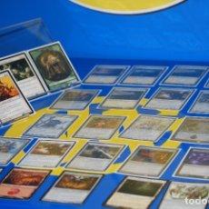 Barajas de cartas: LOTE CARTAS 30 CARTAS MAGIC THE GATHERING-TODAS DIFERENTES-22 CON FUNDA. Lote 180287872