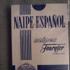 Barajas de cartas: BARAJA DE CARTAS FOURNIER PUBLICIDAD DE ARGENTARIA. SIN ABRIR CON PRECINTO. BARAJA ESPAÑOLA.. Lote 180425075