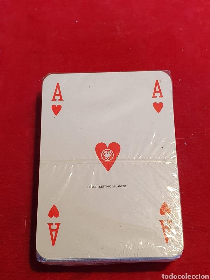 Barajas de cartas: Viejas Barajas / cartas de poker de publicidad de Longines - Foto 2 - 180426718