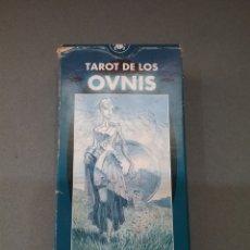 Barajas de cartas: CARTAS TAROT DE LOS OVNIS . LO SCARABEO. 78 CARTAS.. Lote 180448201