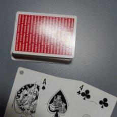 Barajas de cartas: BARAJA DE PÓKER PUBLICIDAD KODAK PREMIUMS, FOURNIER TIMBRE NEGRO, ENVÍO GRATIS. Lote 180473238