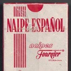 Barajas de cartas: BARAJA DE CARTAS HERACLIO FOURNIER NAIPE ESPAÑOL - BARAJACARTAS-239. Lote 180853530