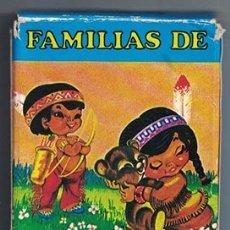 Barajas de cartas: BARAJA DE CARTAS H. FOURNIER - FAMILIAS 7 PAISES, JUEGO INFANTIL - BARAJACARTAS-241. Lote 180853933