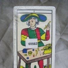 Barajas de cartas: TAROT. BARAJA 22 CARTAS. ARCANOS MAYORES. . Lote 180858638