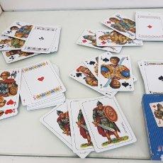 Barajas de cartas: LOTE DE 55 CARTAS DE PÓKER INSPIRADAS EN LA ANTIGUA DINASTÍA ASIRIA EGIPCIA GRIEGA Y RUSA FOURNIER. Lote 180860741