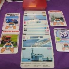 Barajas de cartas: BARAJA TOP TRUMPS BATTLESHIPS. Lote 180877253