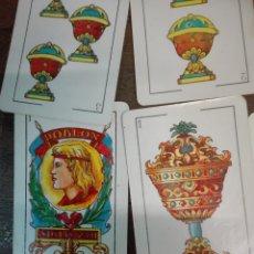 Barajas de cartas: BARAJA DOBLÓN, INCOMPLETA 20 CARTAS, ENVÍO GRATIS. Lote 180861762